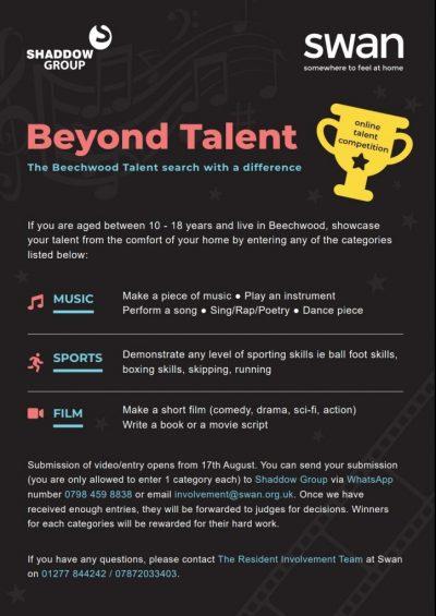 Beyond Talent Flyer